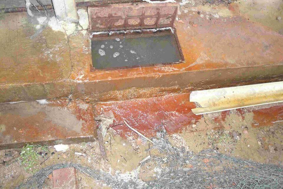 金門自來水供水管清洗實況